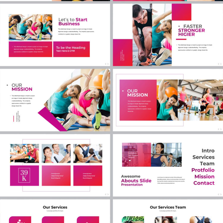 PowerPoint Presentation Template 002