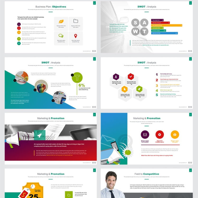 PowerPoint Presentation Template 003