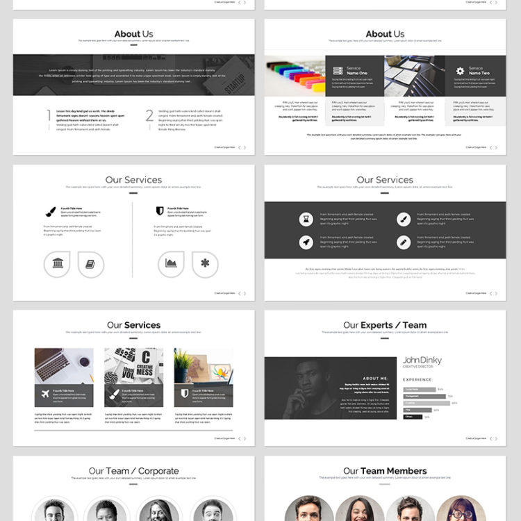 PowerPoint Presentation Template 005