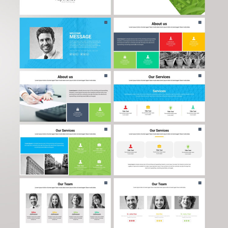 PowerPoint Presentation Template 007