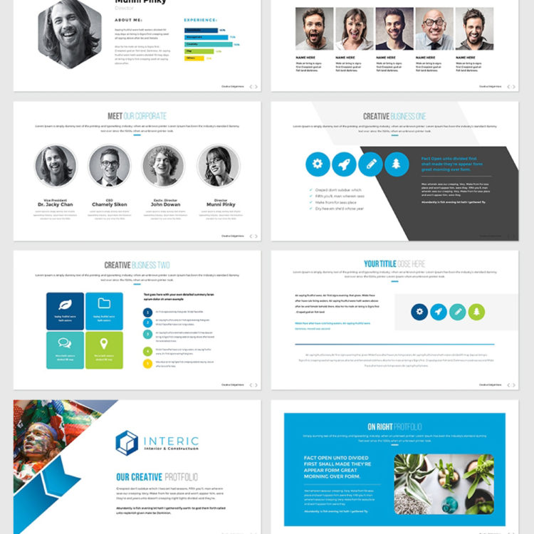 PowerPoint Presentation Template 009