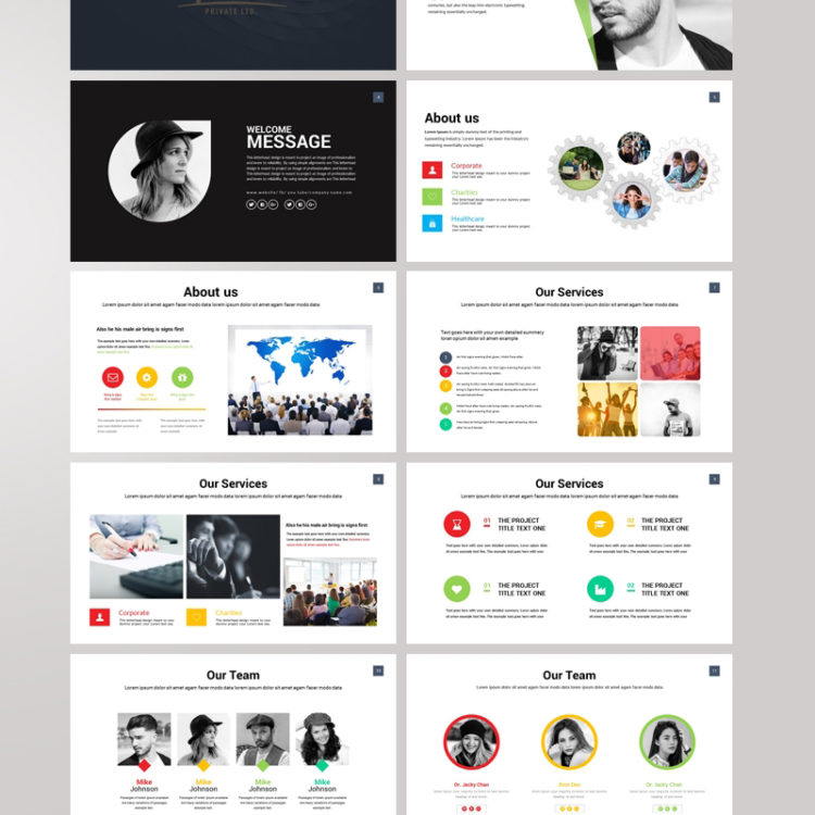 PowerPoint Presentation Template 010